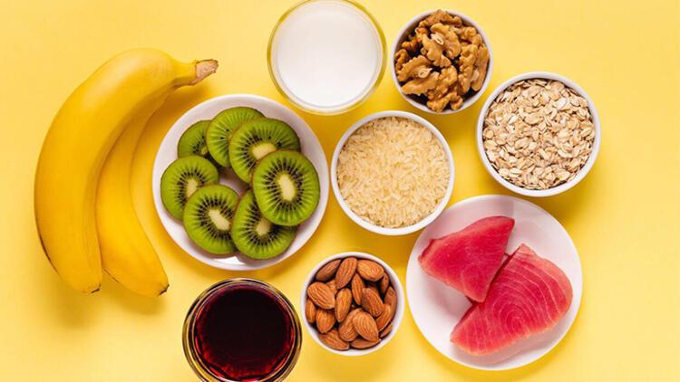 5. KURAL: Melatonin içeren besinler tüketin